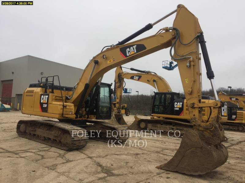 CATERPILLAR PELLES SUR CHAINES 326FL9 equipment  photo 2