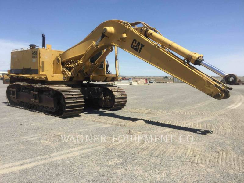 CATERPILLAR TRACK EXCAVATORS 245BII equipment  photo 2