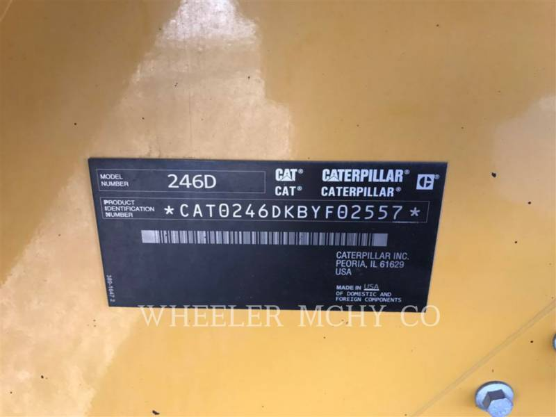 CATERPILLAR MINICARGADORAS 246D C3HF2 equipment  photo 5