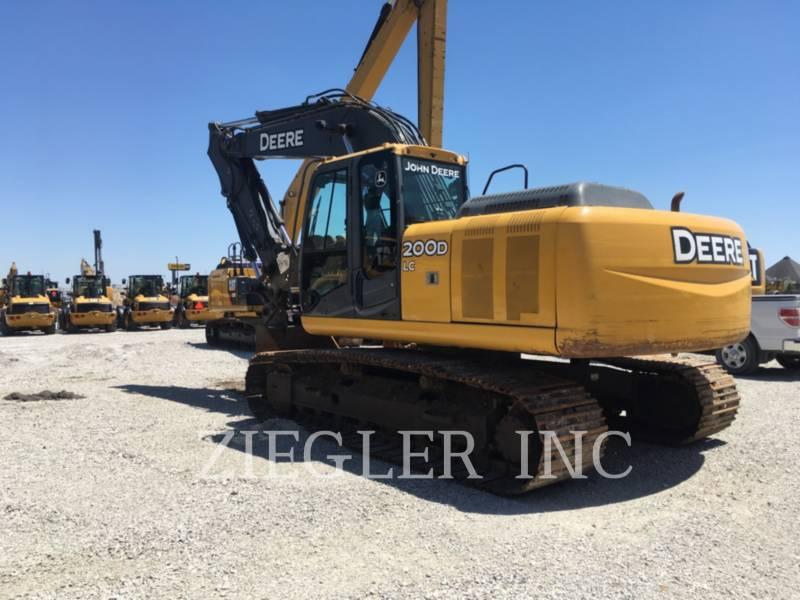 DEERE & CO. TRACK EXCAVATORS 200D equipment  photo 4
