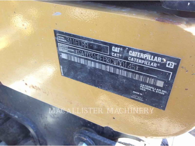 CATERPILLAR KETTEN-HYDRAULIKBAGGER 311F equipment  photo 5