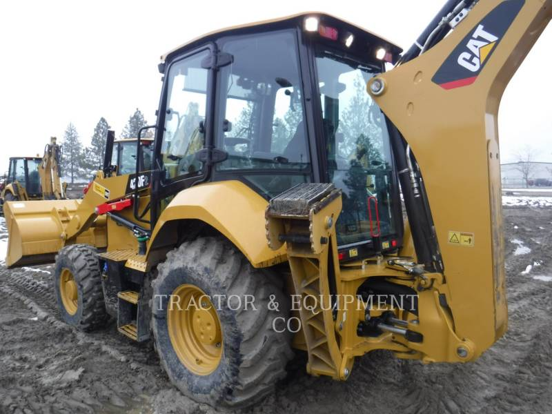 CATERPILLAR BACKHOE LOADERS 420F2 4ECB equipment  photo 9