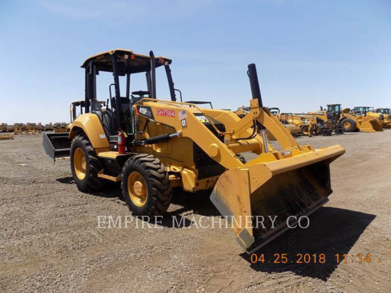 CATERPILLAR CHARGEUR INDUSTRIEL 415F2 IL equipment  photo 1