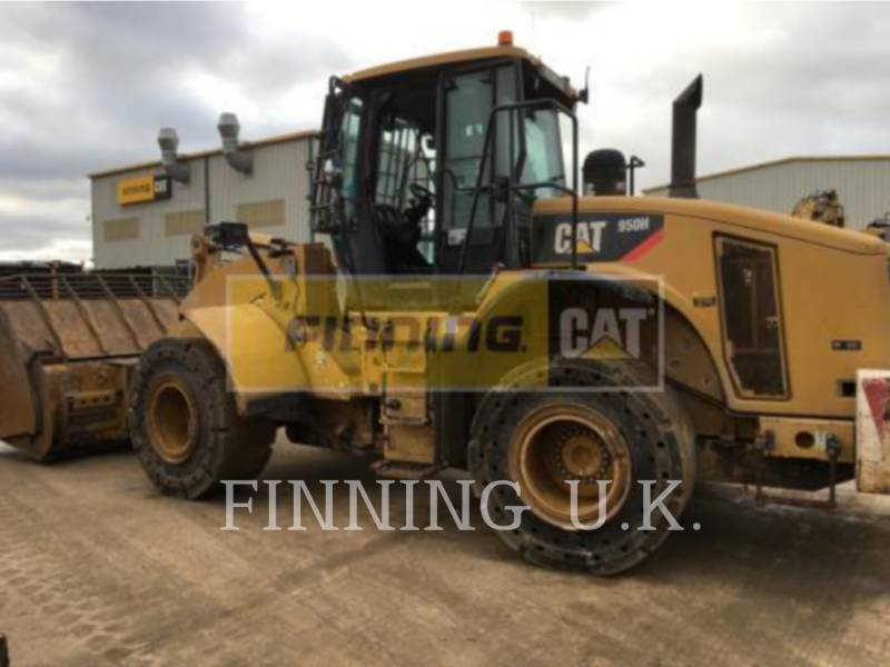 CATERPILLAR WHEEL LOADERS/INTEGRATED TOOLCARRIERS 950H WASTE equipment  photo 1
