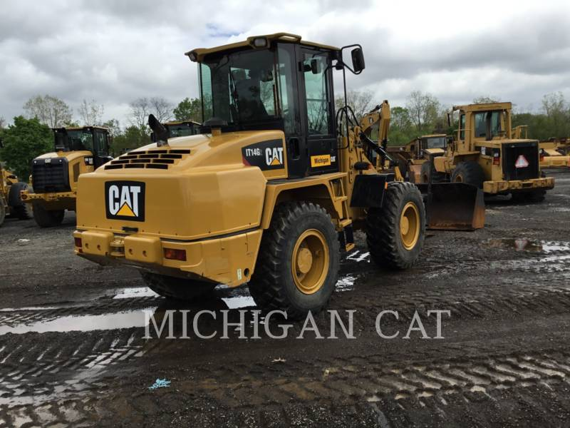 CATERPILLAR CHARGEURS SUR PNEUS/CHARGEURS INDUSTRIELS IT14G2 AR equipment  photo 4