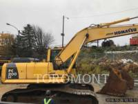 KOMATSU LTD. KETTEN-HYDRAULIKBAGGER PC200 equipment  photo 3