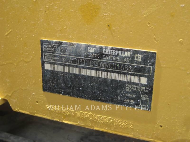 CATERPILLAR KOPARKI GĄSIENICOWE 311 D LRR equipment  photo 14