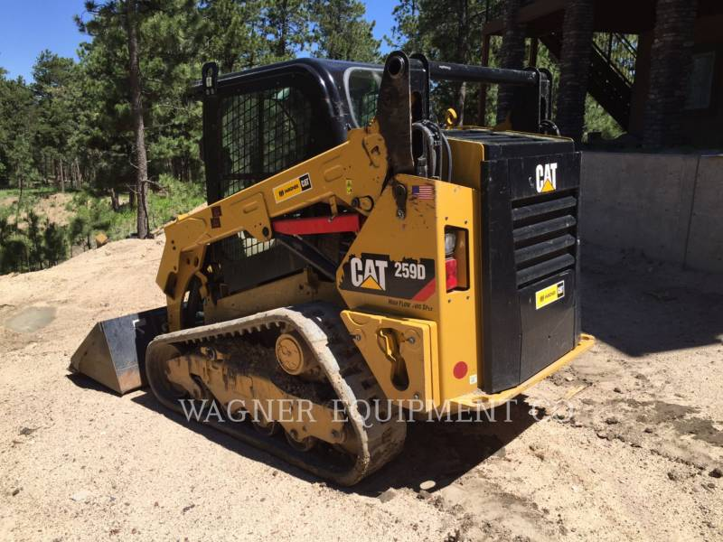 CATERPILLAR MINICARGADORAS 259D HF equipment  photo 4