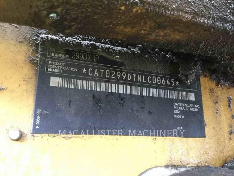 CATERPILLAR CARGADORES MULTITERRENO 299DXHP equipment  photo 17