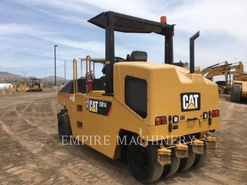 CATERPILLAR GUMMIRADWALZEN CW14 equipment  photo 2
