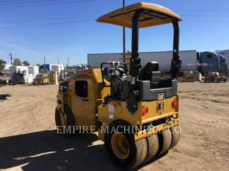 CATERPILLAR TANDEMOWY WALEC WIBRACYJNY DO ASFALTU (STAL-STAL) CC34B equipment  photo 3
