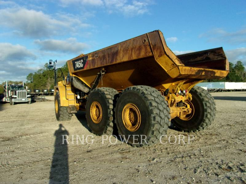 CATERPILLAR TOMBEREAUX ARTICULÉS 745C equipment  photo 3