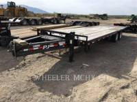 Equipment photo PJ TRAILERS TR 28' TAG TRAILERS 1