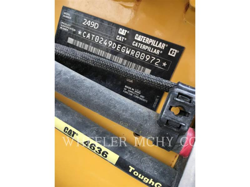 CATERPILLAR CHARGEURS TOUT TERRAIN 249D C3-H2 equipment  photo 5