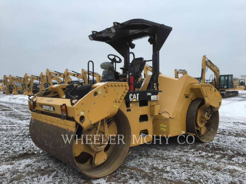 CATERPILLAR TANDEMOWY WALEC WIBRACYJNY DO ASFALTU (STAL-STAL) CB64 VV equipment  photo 1