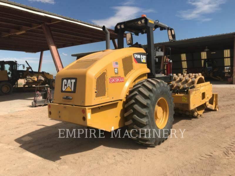 CATERPILLAR COMPATTATORE A SINGOLO TAMBURO VIBRANTE TASSELLATO CP56B equipment  photo 1