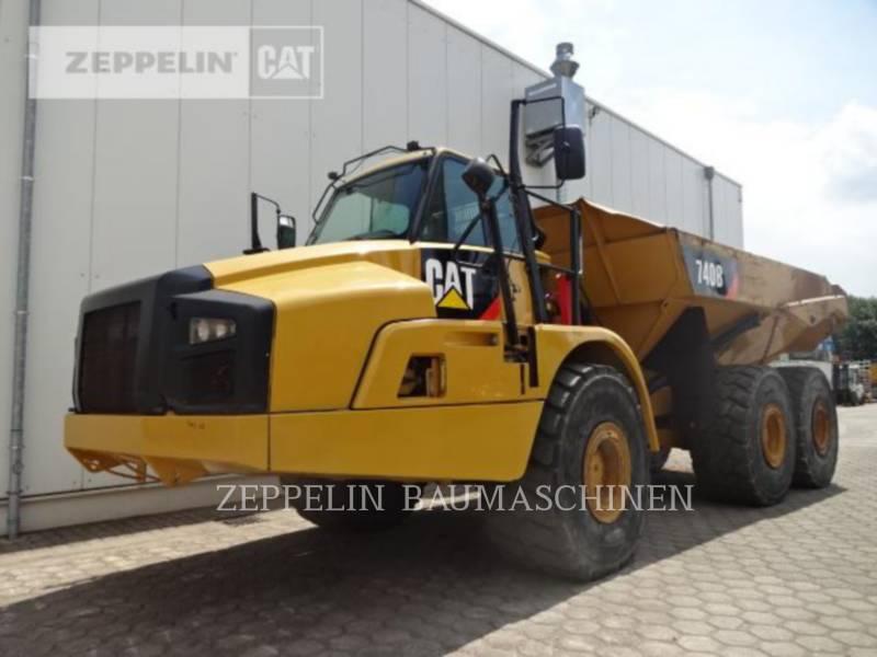 CATERPILLAR DUMPER ARTICOLATI 740B equipment  photo 1