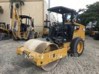 CATERPILLAR VIBRATORY SINGLE DRUM SMOOTH CS 34 equipment  photo 1