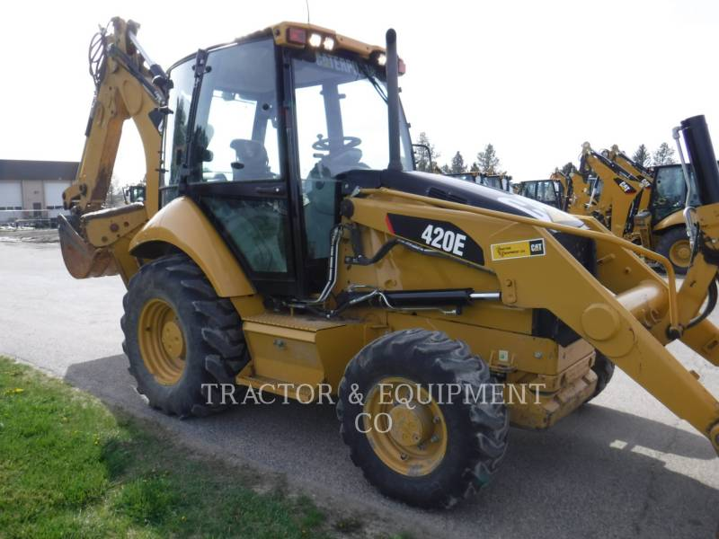 CATERPILLAR CHARGEUSES-PELLETEUSES 420E 4ECB equipment  photo 7