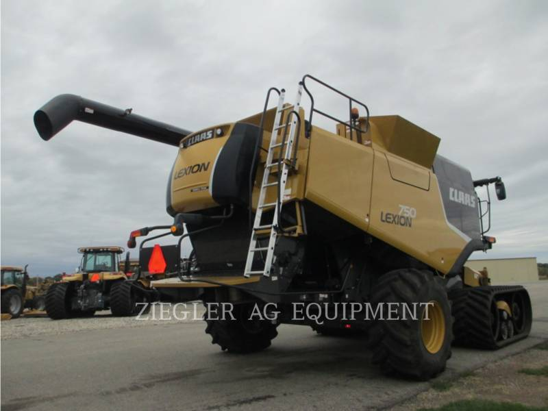LEXION COMBINE COMBINES 750TTHS equipment  photo 3