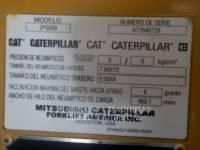 MITSUBISHI CATERPILLAR FORKLIFT MONTACARGAS 2P5000 equipment  photo 2