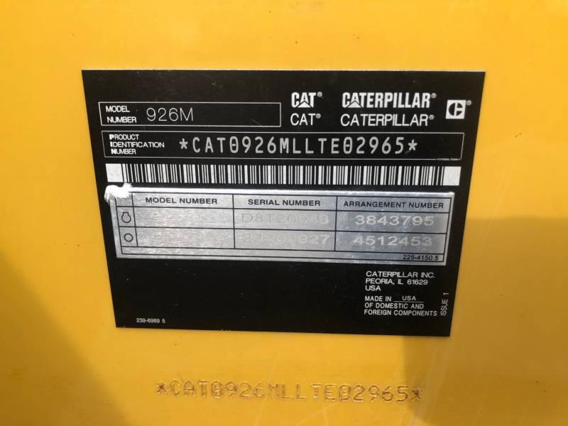 CATERPILLAR 轮式装载机/多功能装载机 926 M equipment  photo 24