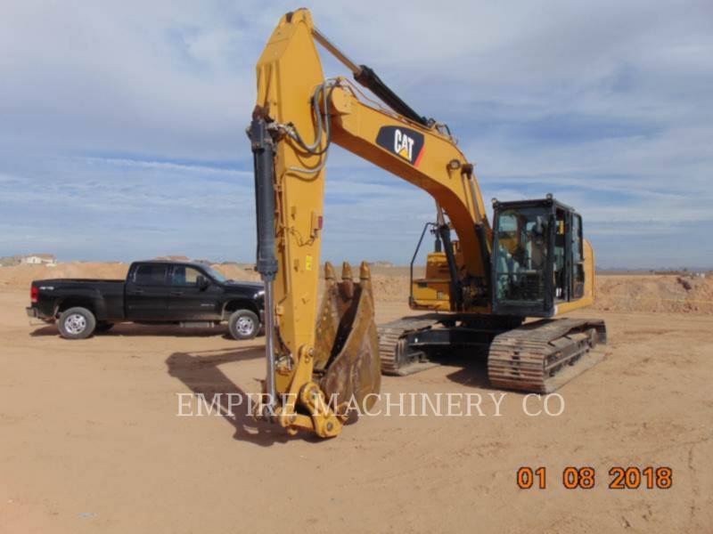 CATERPILLAR PELLES SUR CHAINES 323FL   ST equipment  photo 4