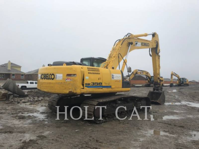 KOBELCO / KOBE STEEL LTD EXCAVADORAS DE CADENAS SK350L equipment  photo 2
