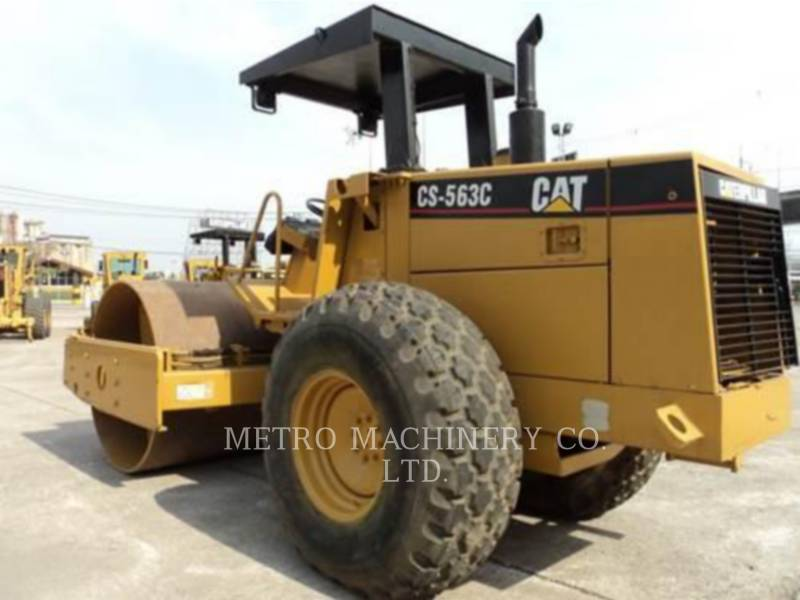 CATERPILLAR EINZELVIBRATIONSWALZE, GLATTBANDAGE CS-563CAW equipment  photo 6