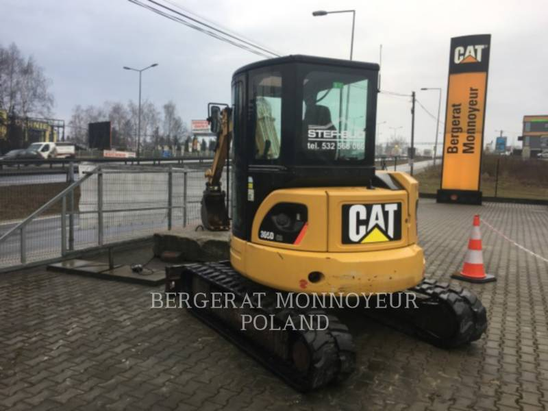 CATERPILLAR TRACK EXCAVATORS 305D CR equipment  photo 4