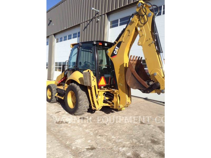 CATERPILLAR BAGGERLADER 430F 4WDE equipment  photo 2