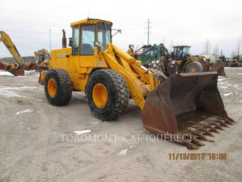 JOHN DEERE WHEEL LOADERS/INTEGRATED TOOLCARRIERS 644D equipment  photo 3