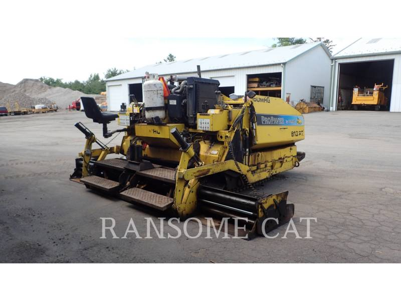 BOMAG ASPHALT PAVERS 813RT equipment  photo 5