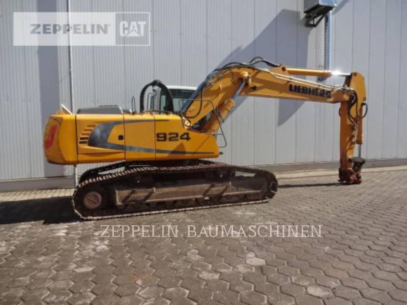 LIEBHERR PELLES SUR CHAINES R924 equipment  photo 7