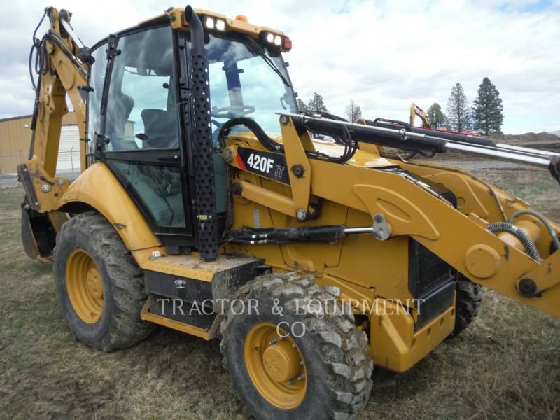 CATERPILLAR CHARGEUSES-PELLETEUSES 420F 4ETCB equipment  photo 2