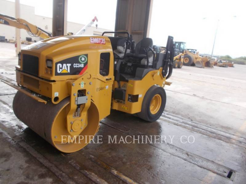 CATERPILLAR TANDEMOWY WALEC WIBRACYJNY DO ASFALTU (STAL-STAL) CC34B equipment  photo 4