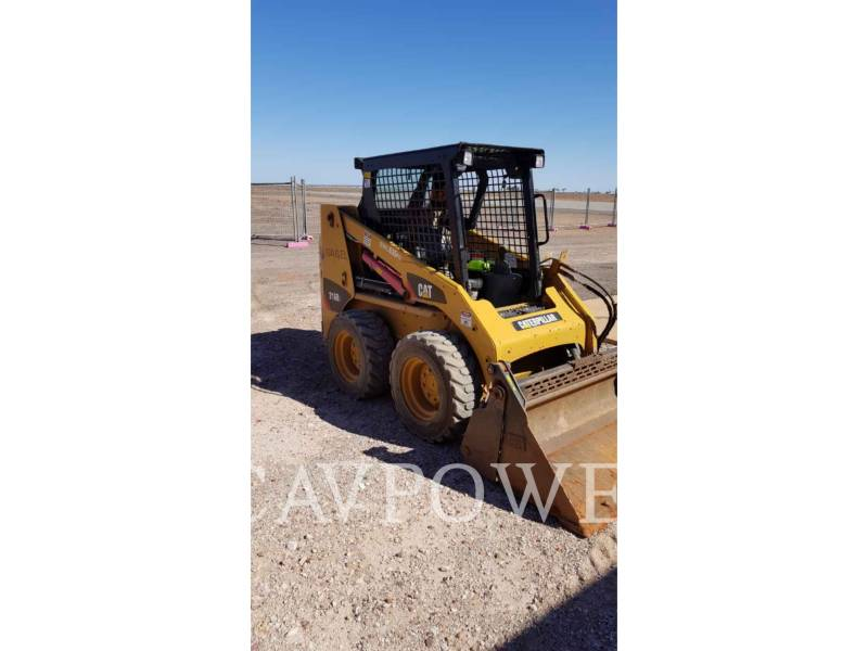 CATERPILLAR SCHRANKLADERS 216B3LRC equipment  photo 1