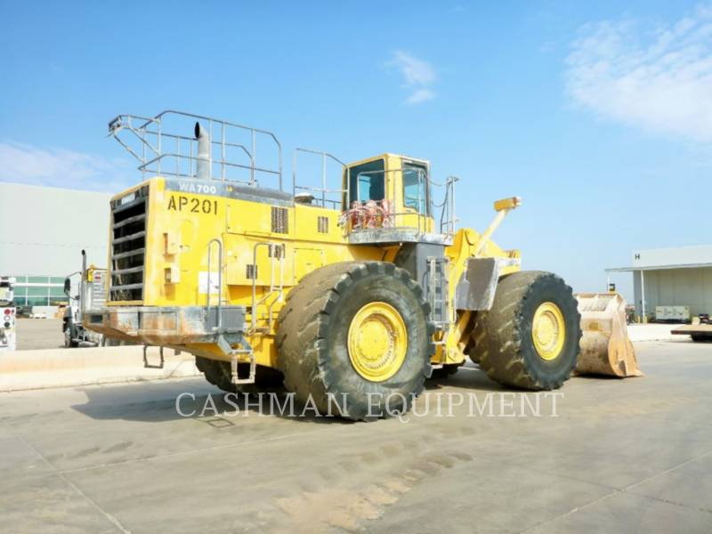KOMATSU RADLADER/INDUSTRIE-RADLADER WA700-3 equipment  photo 4