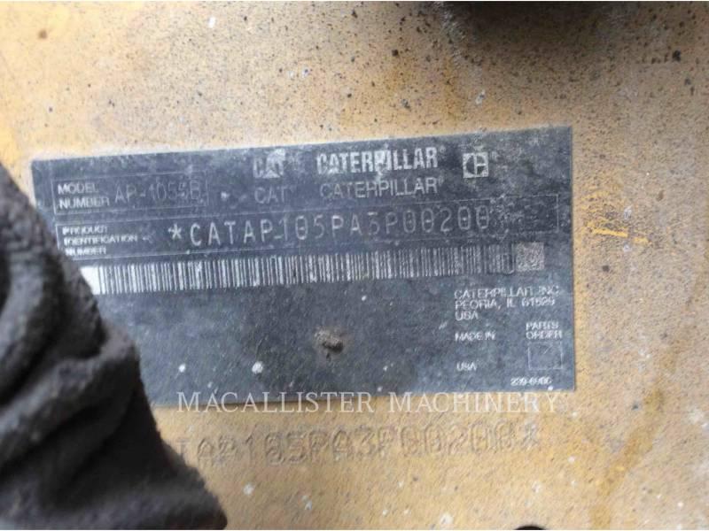 CATERPILLAR ASPHALT PAVERS AP-1055B equipment  photo 5