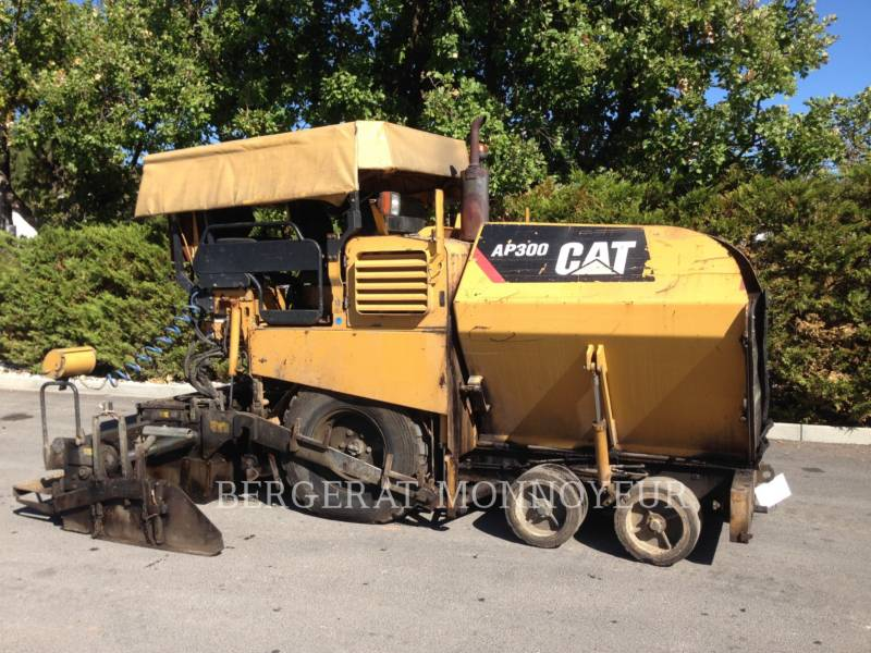 CATERPILLAR FINISSEURS AP-300 equipment  photo 11