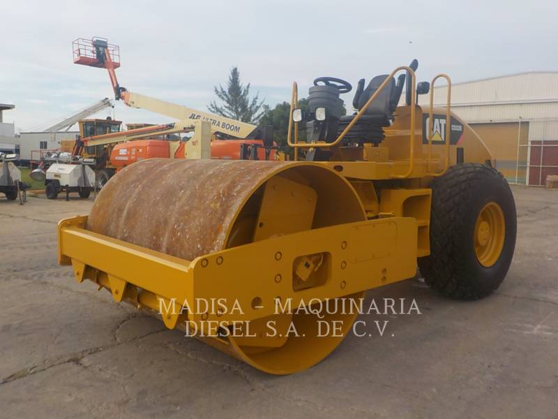 CATERPILLAR PLANO DO TAMBOR ÚNICO VIBRATÓRIO CS-533E equipment  photo 2