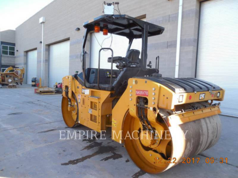 CATERPILLAR COMPATTATORE PER ASFALTO A DOPPIO TAMBURO VIBRANTE CB54B equipment  photo 3
