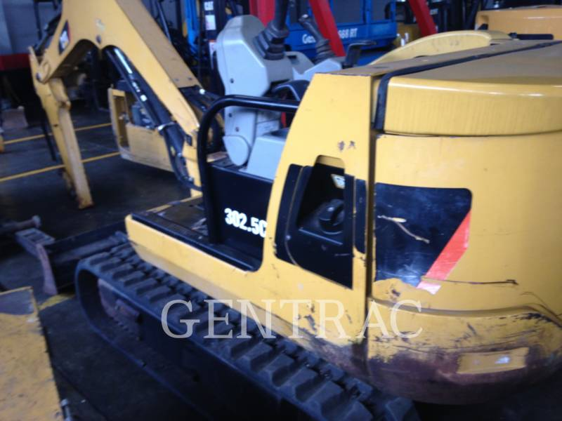 CATERPILLAR TRACK EXCAVATORS 302.5C equipment  photo 3