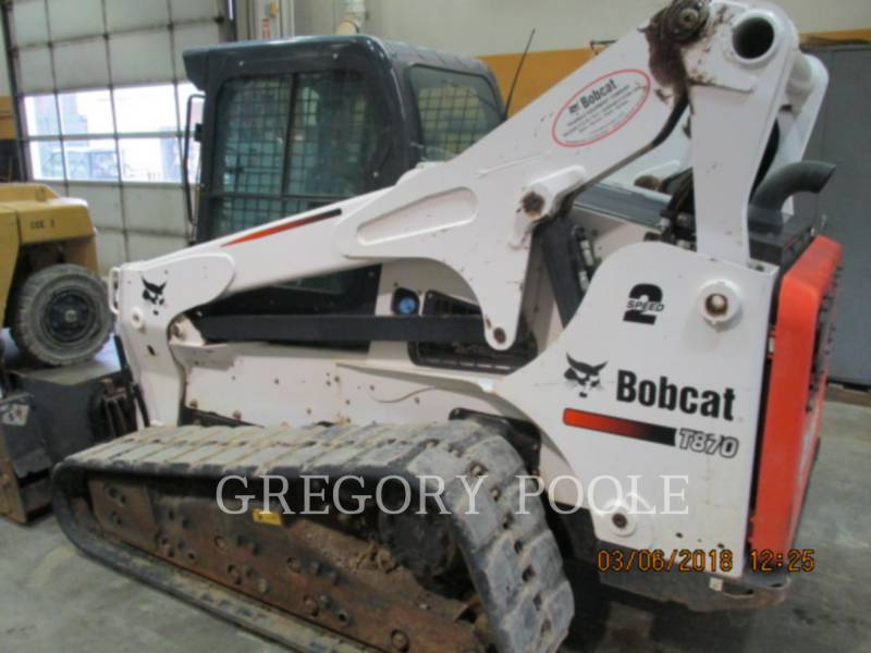 BOBCAT DELTALADER T870 equipment  photo 3
