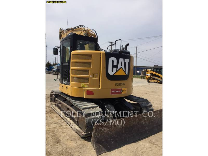 CATERPILLAR KETTEN-HYDRAULIKBAGGER 314ELCR9 equipment  photo 4