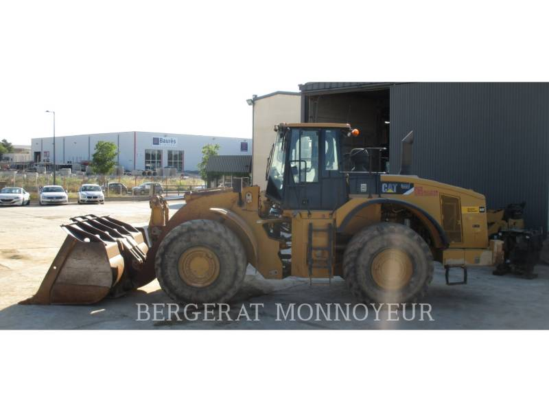 CATERPILLAR RADLADER/INDUSTRIE-RADLADER 980H equipment  photo 4