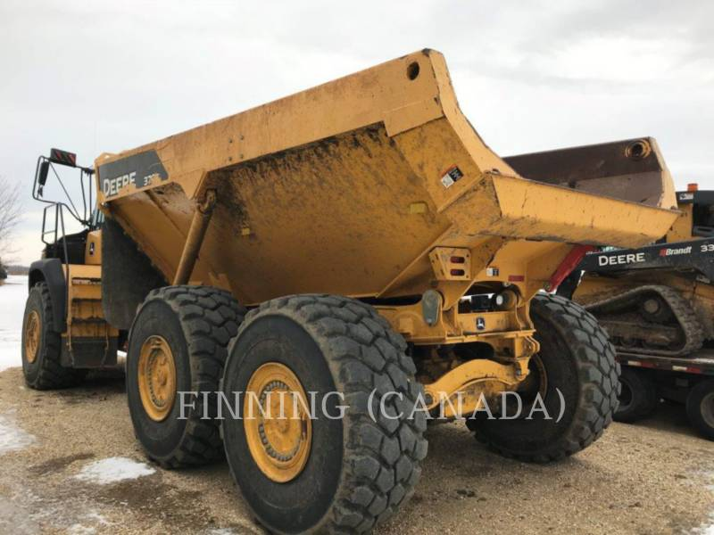 JOHN DEERE アーティキュレートトラック 370 E equipment  photo 4