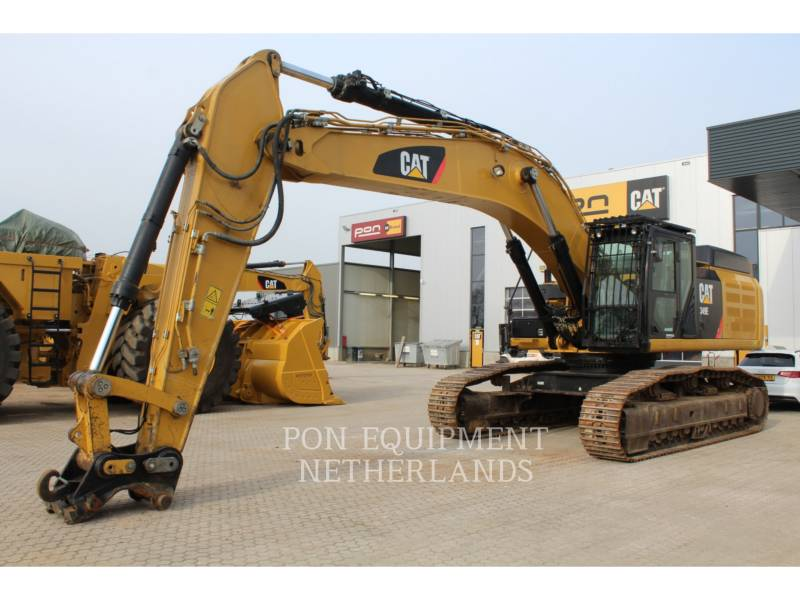 CATERPILLAR KETTEN-HYDRAULIKBAGGER 349 EL VG equipment  photo 1