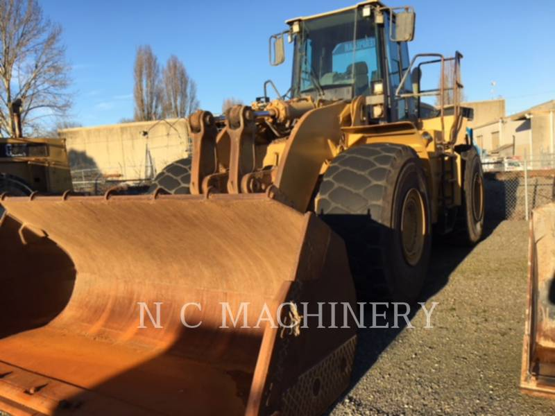 CATERPILLAR RADLADER/INDUSTRIE-RADLADER 980G equipment  photo 1