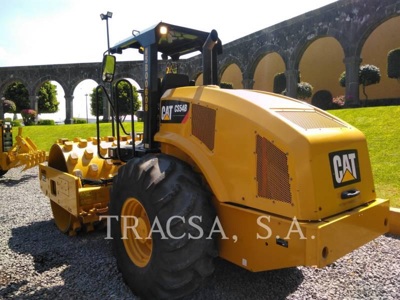 CATERPILLAR COMPATTATORE A SINGOLO TAMBURO VIBRANTE LISCIO CS 54 B equipment  photo 3